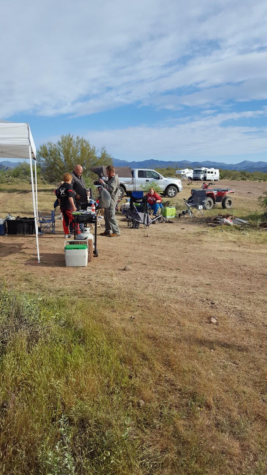 Camp Spot (BLM) - lodging  | Photo 1 of 10 | Address: Morristown, AZ 85342, USA