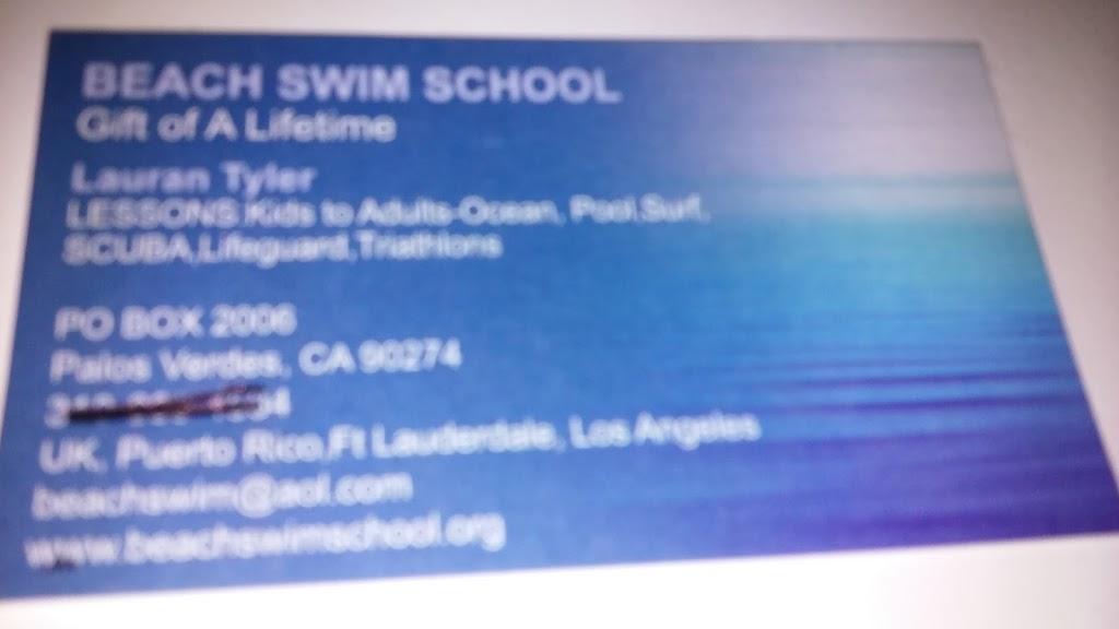 Beach Swim School - health  | Photo 1 of 1 | Address: 3601 Stephen M White Dr, San Pedro, CA 90731, USA | Phone: (424) 261-5648
