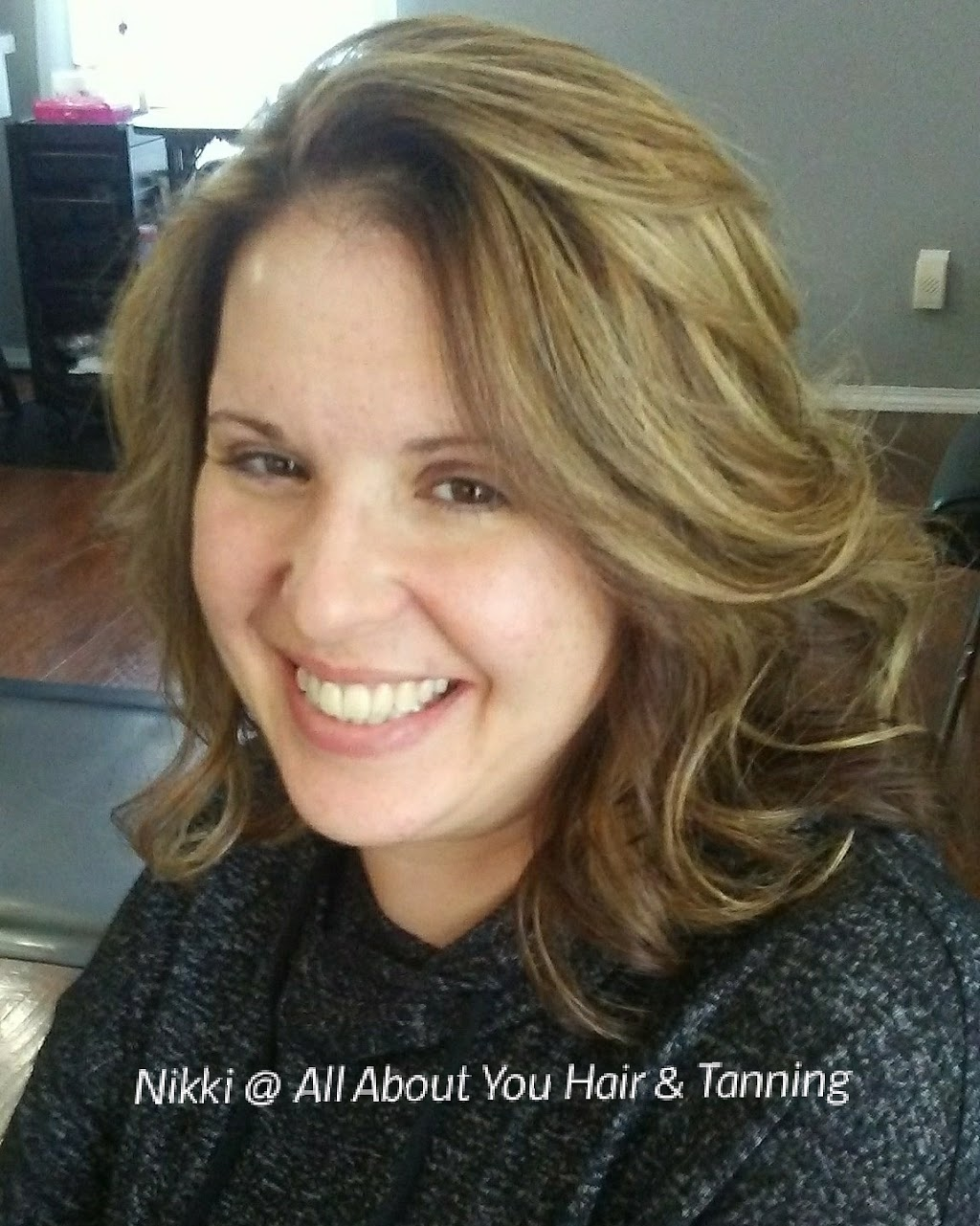 Nikkis Hair Shenanigans at All About You Hair And Tanning Salon - hair care  | Photo 3 of 10 | Address: 9227 County Line Rd, De Motte, IN 46310, USA | Phone: (765) 761-7119