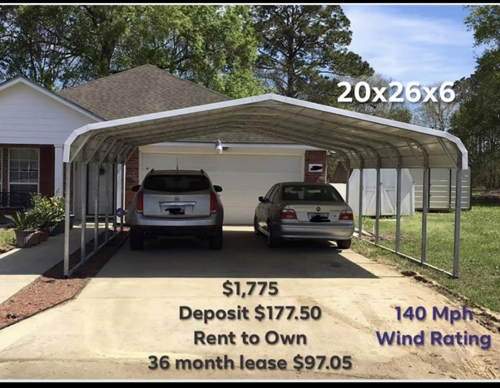 Howard Sales-Stor Mor Portable Buildings - real estate agency  | Photo 8 of 10 | Address: 37434 US-96, Buna, TX 77612, USA | Phone: (409) 698-8853