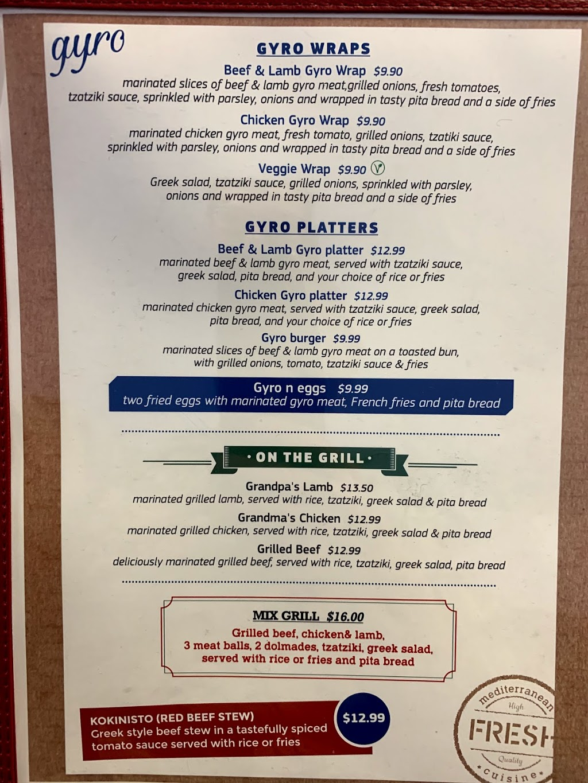 Mediterraneo - restaurant  | Photo 10 of 10 | Address: 628 Parker Rd, Fairfield, CA 94533, USA | Phone: (707) 803-5112