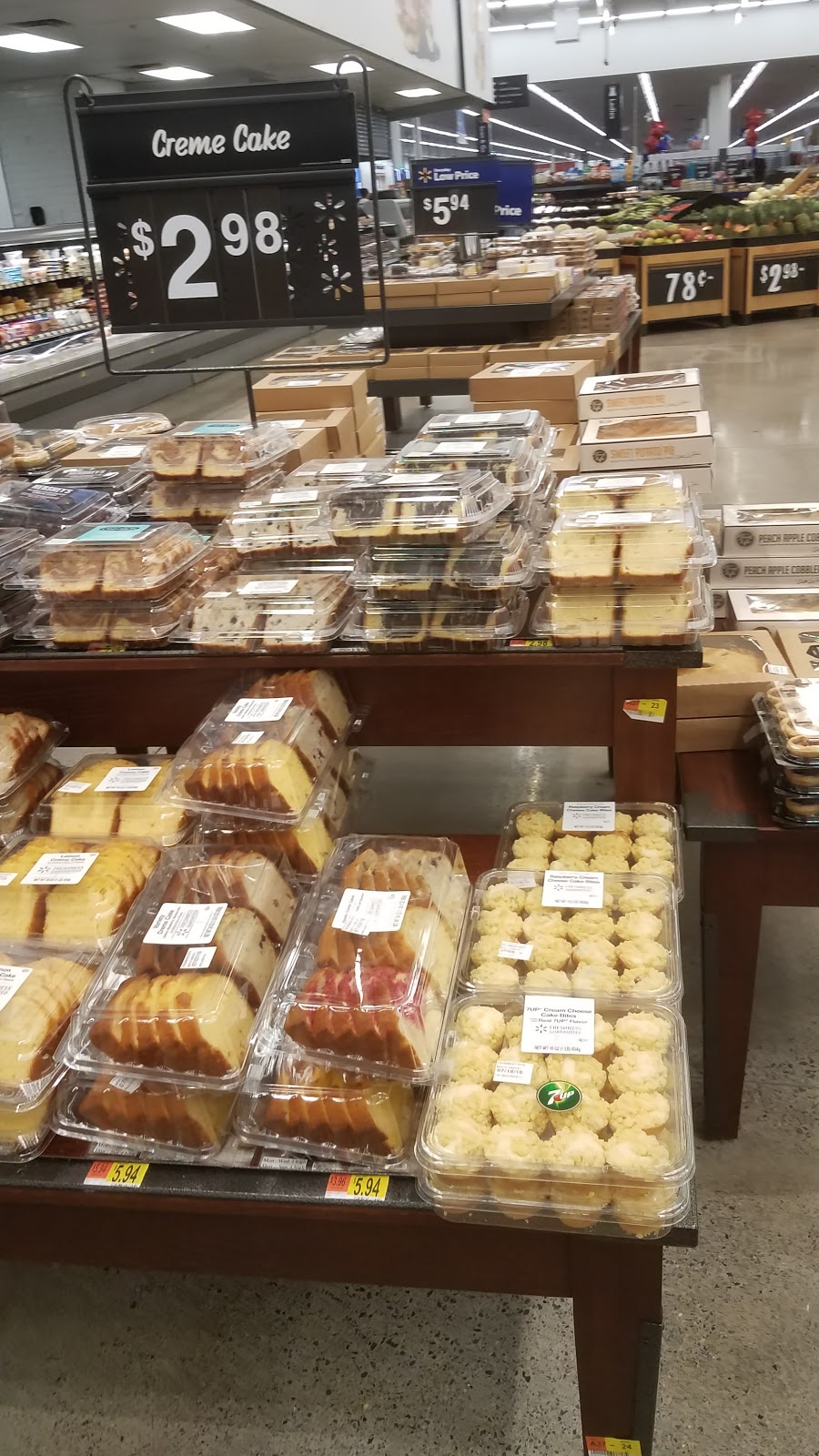 Walmart Bakery - bakery  | Photo 5 of 10 | Address: 279 Troy Rd, Rensselaer, NY 12144, USA | Phone: (518) 238-6054