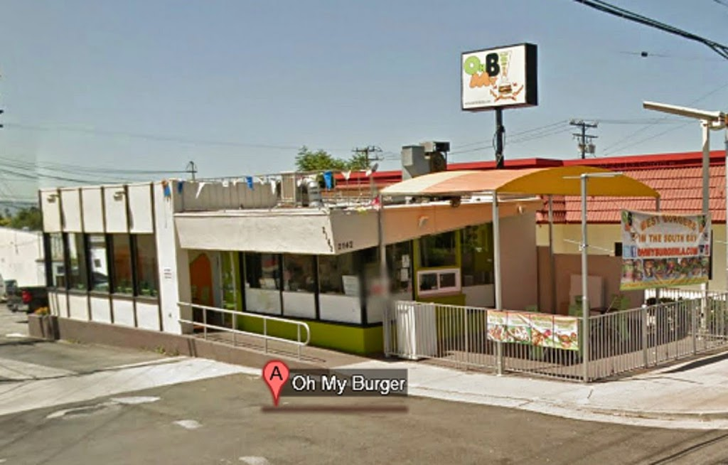 Oh My Burger - restaurant  | Photo 3 of 10 | Address: 2142 W El Segundo Blvd, Gardena, CA 90249, USA | Phone: (310) 756-6522
