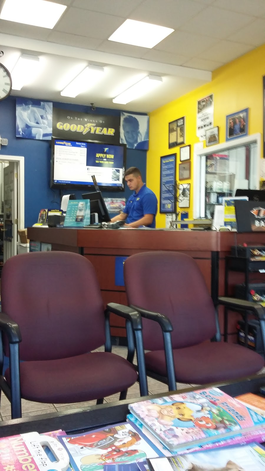 Ocean Area Tire - car repair    Photo 3 of 10   Address: 34461 Atlantic Ave, Ocean View, DE 19970, USA   Phone: (302) 539-1700