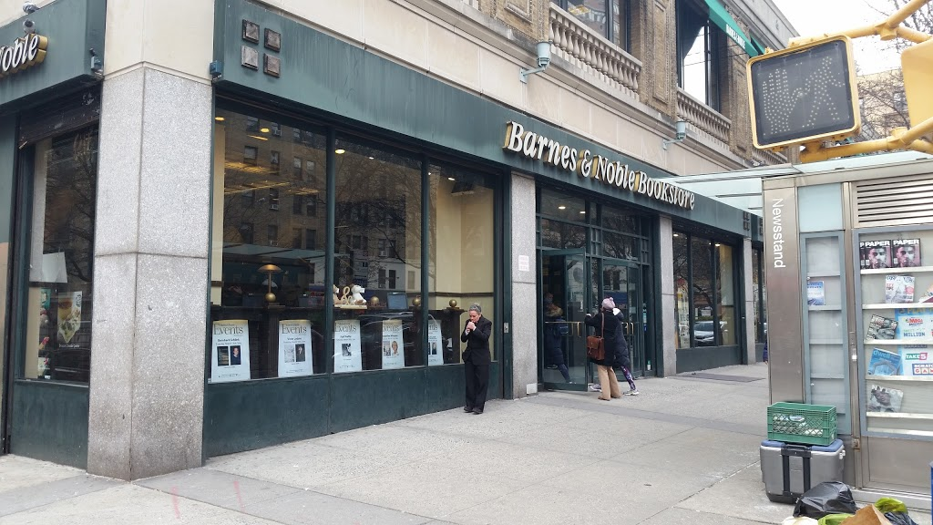 Barnes & Noble | cafe | 2289 Broadway, New York, NY 10024, USA | 2123628835 OR +1 212-362-8835