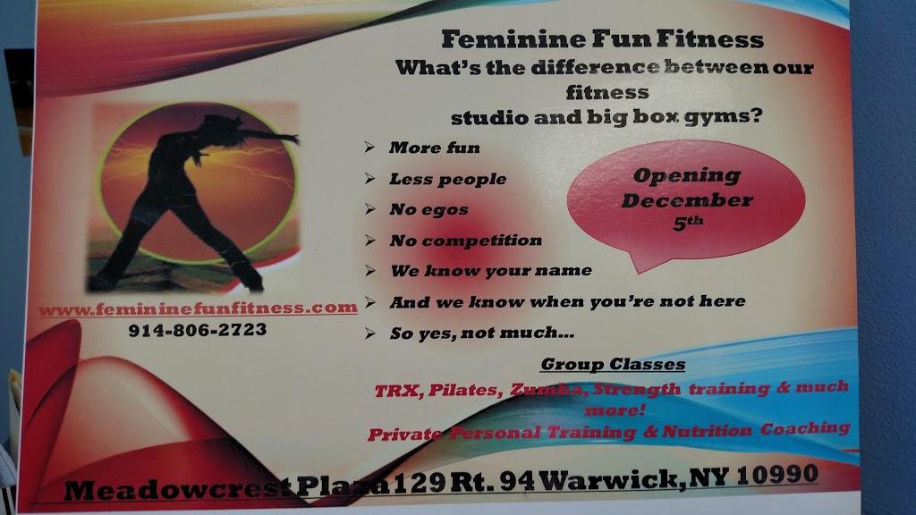 Feminine Fun Fitness - gym  | Photo 10 of 10 | Address: 63 Wheeler Ave, Warwick, NY 10990, USA | Phone: (914) 806-2723
