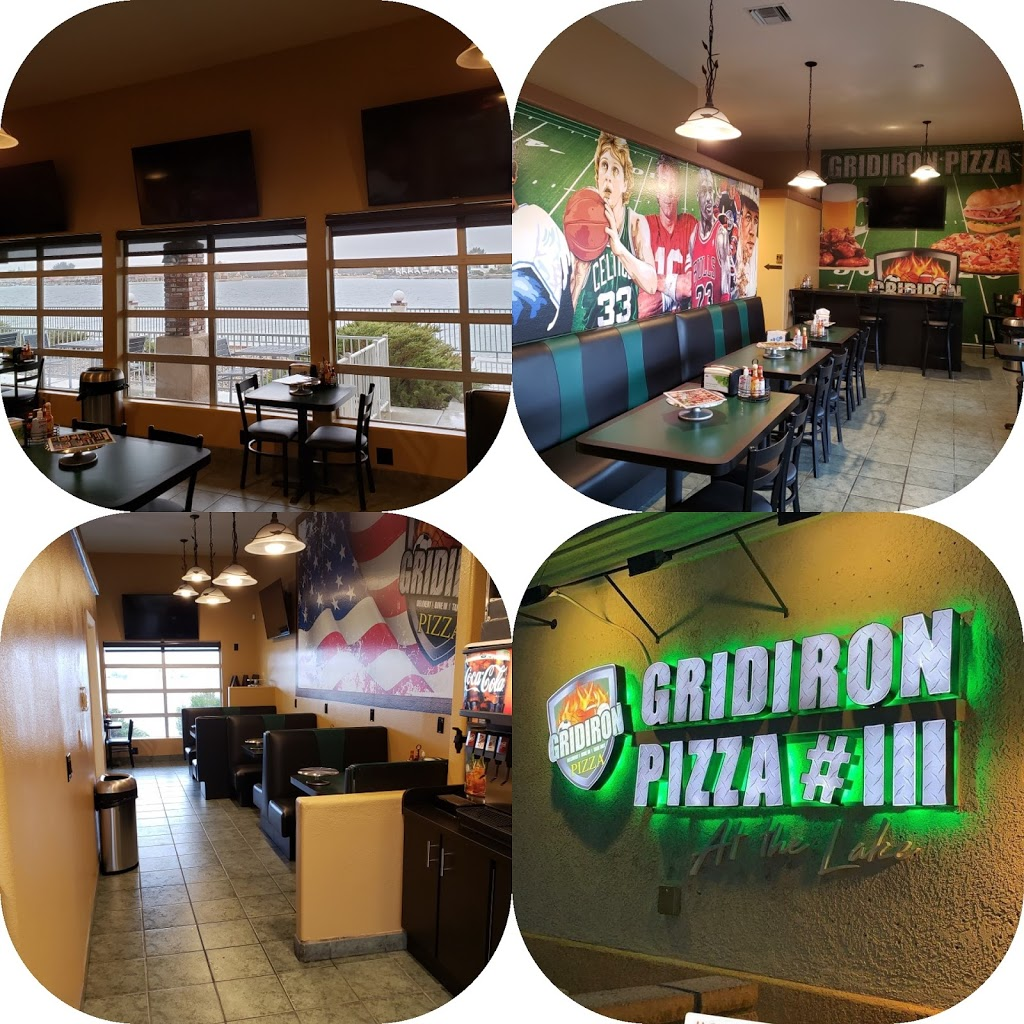 Gridiron Pizza #3 At The Lake - restaurant  | Photo 1 of 10 | Address: 27170 Lakeview Dr #402, Helendale, CA 92342, USA | Phone: (760) 243-0333