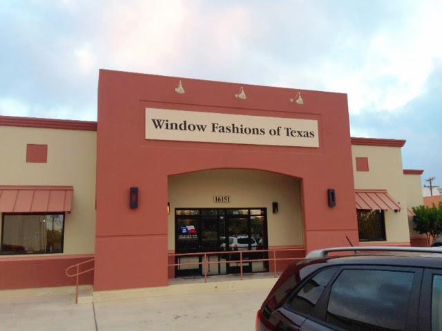 Window Fashions of Texas - store    Photo 3 of 10   Address: 16151 College Oak #102, San Antonio, TX 78249, USA   Phone: (210) 979-8703