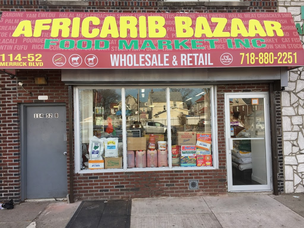 Africarib Bazaar Foodmarket - store  | Photo 1 of 1 | Address: 114-52 Merrick Blvd, Jamaica, NY 11434, USA | Phone: (718) 880-2251