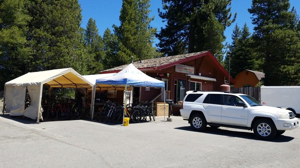 Watta Bike Shop - bicycle store    Photo 1 of 2   Address: 2933 US-50 B, South Lake Tahoe, CA 96150, USA   Phone: (530) 544-7700