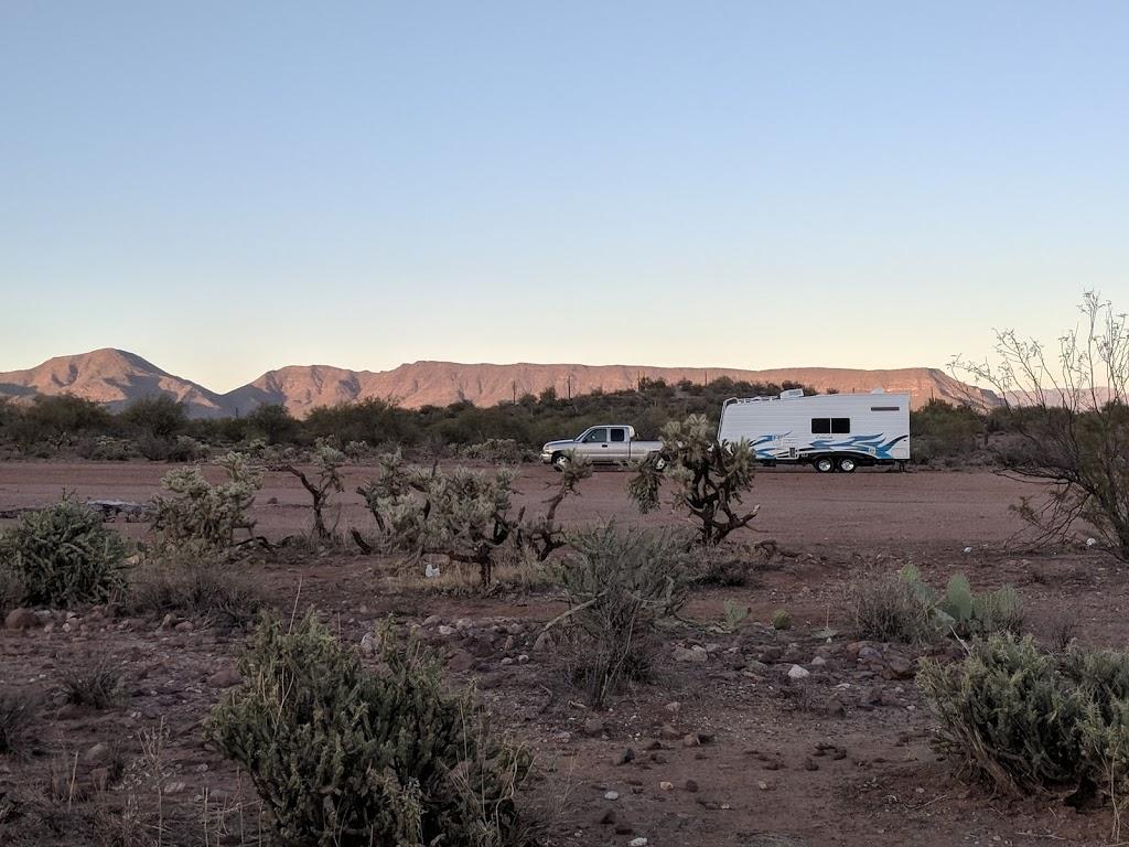 Camp Spot (BLM) - lodging  | Photo 4 of 10 | Address: Morristown, AZ 85342, USA