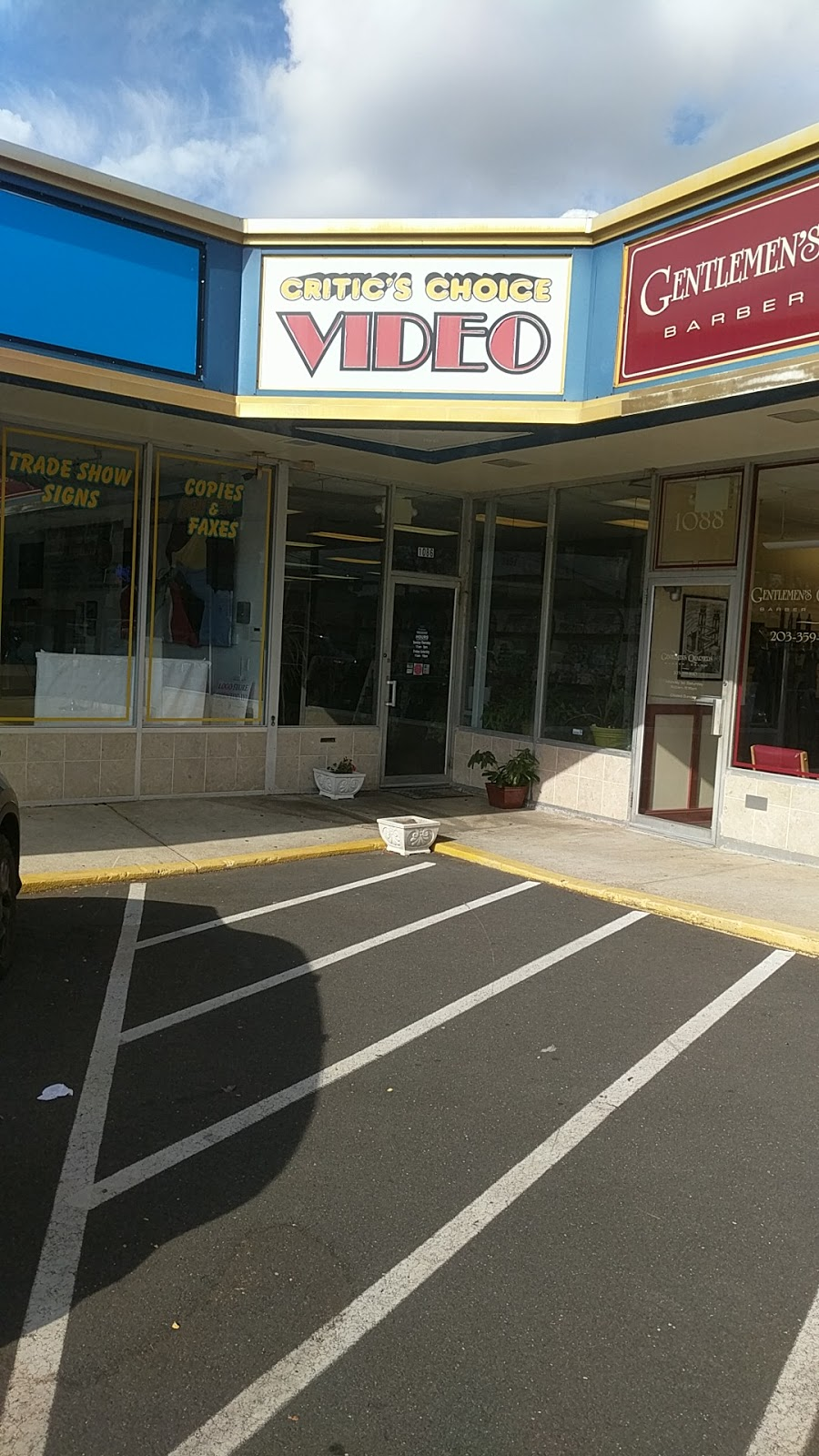 Critics Choice Video - home goods store  | Photo 1 of 2 | Address: Springdale Shopping Center, 1086 Hope St, Stamford, CT 06907, USA | Phone: (203) 329-3100