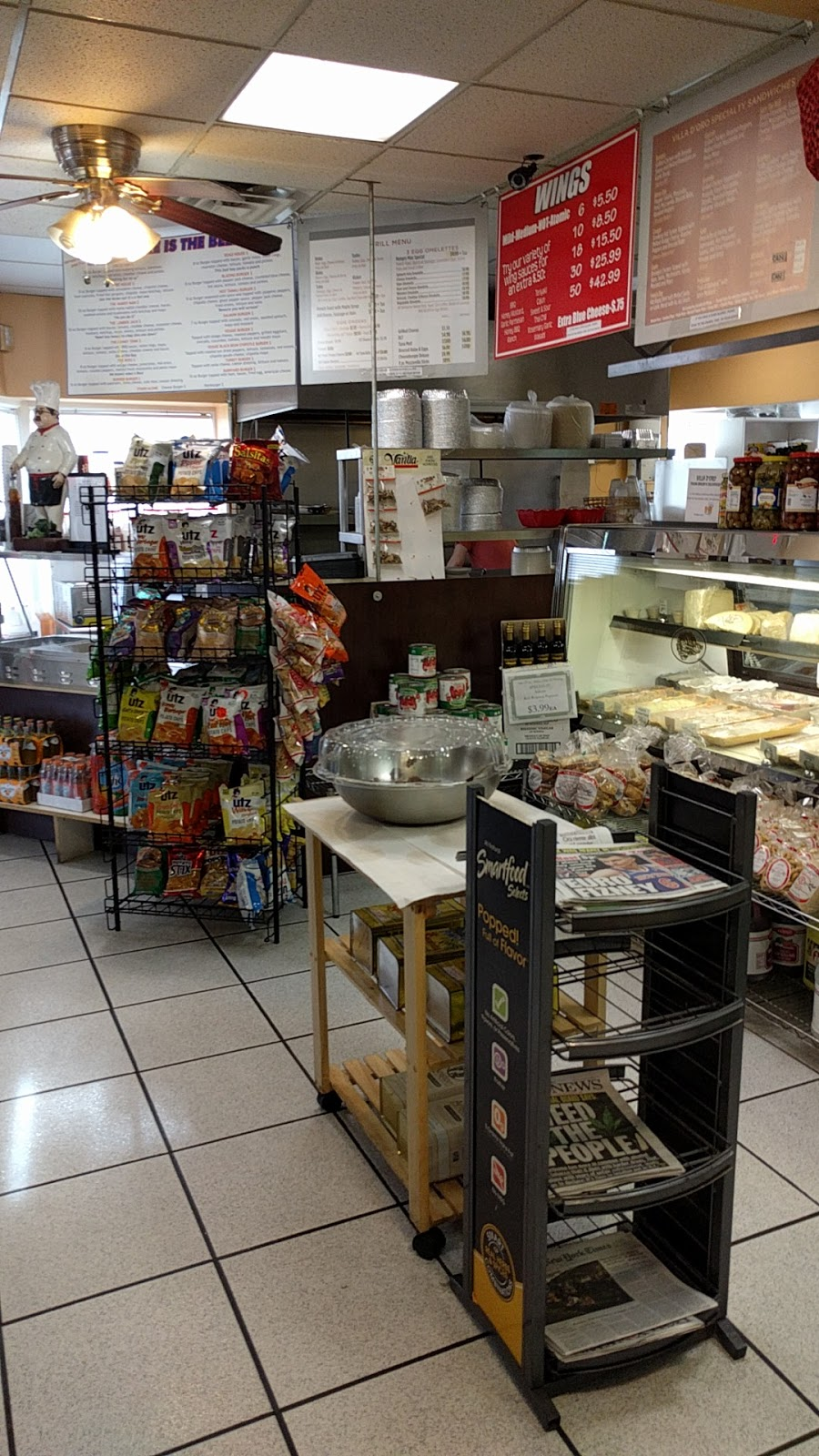 Villa Doro Italian Deli and Bakery - bakery  | Photo 1 of 5 | Address: 24 Old Albany Post Rd, Croton-On-Hudson, NY 10520, USA | Phone: (914) 862-0684