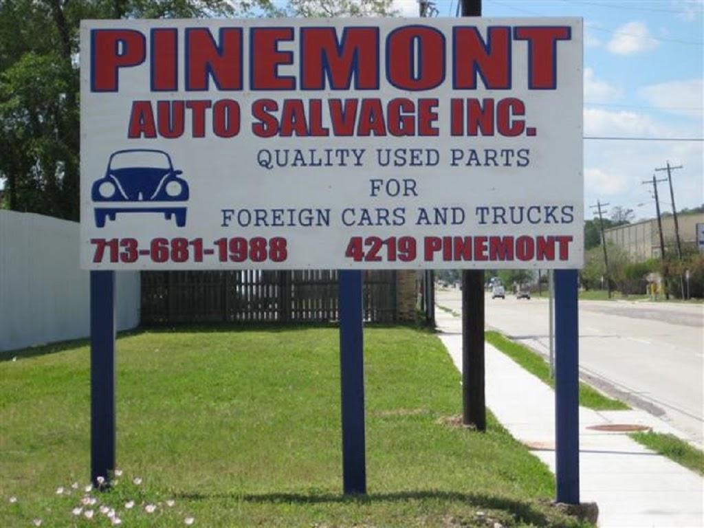 Pinemont Auto Salvage, Inc. - car repair  | Photo 5 of 10 | Address: 4219 Pinemont Dr, Houston, TX 77018, USA | Phone: (713) 681-1988